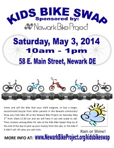 NBP Kids Bike Swap 2014